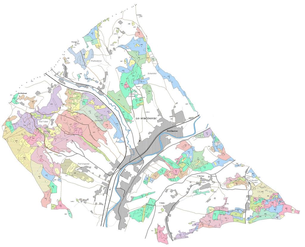 Porastová mapa